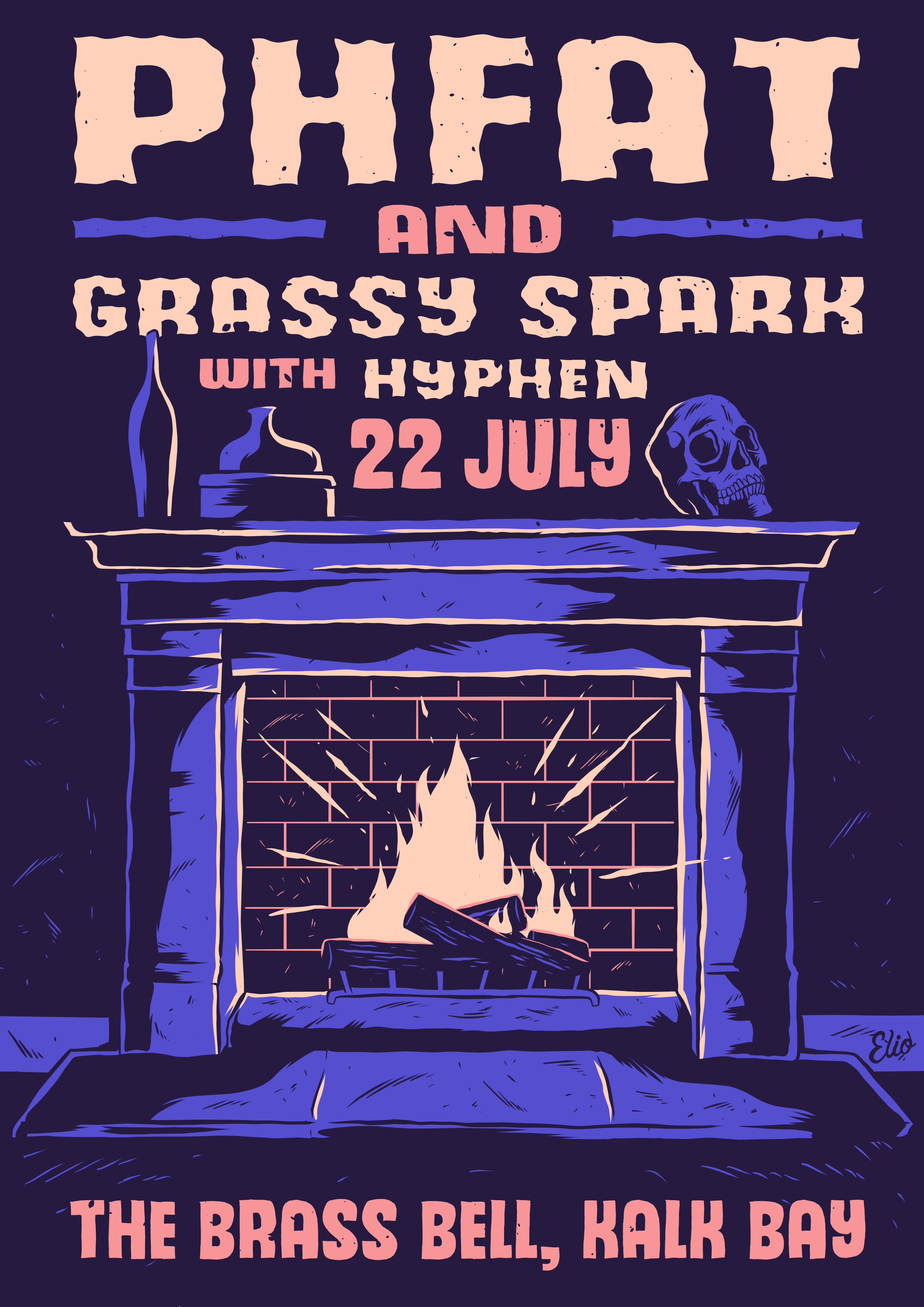 PHFAT & Grassy Spark Poster